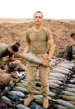 Aaron in Iraq